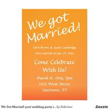 wedding reception invitation post wedding invitations reception sunshinebizsolutions