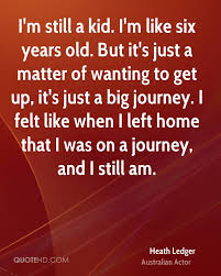 quote journey home heath ledger home quotes quotehd