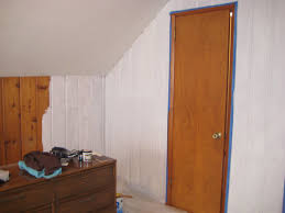 Tips For Painting Wainscoting Remodelaholic Painting Over Knotty Pine Paneling Complete
