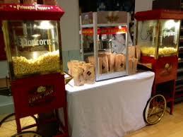 popcorn machine rentals popcorn machine for event nyc
