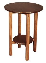 Small End Table Plans Free by Video Build A Round Table Finewoodworking