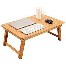 Laptop Bed Desk Tray Superjare Large Bed Table For Laptop Drawing