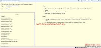 mitsubishi pajero sport 2011 service manual auto repair manual