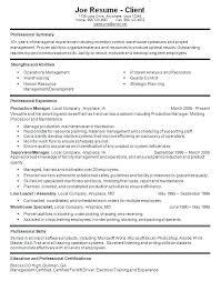 supervisor resume exles nursing supervisor resume housekeeper resume sles resume sles