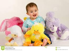 stuffed bunnies for easter baby and easter stuffed animals royalty free stock image image