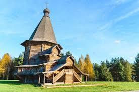 russische architektur architektur alte gebäude stockfoto 121469896