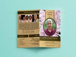 funeral brochure template best of funeral brochure templates free