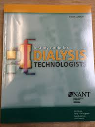 study guide for dialysis technologists fifth edition