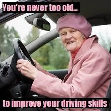 Driving School Meme - assessments for older drivers nottingham