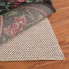 Rug On Carpet Pad 8 X 10 Rug Padding U0026 Grippers Rugs The Home Depot