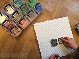 minecraft perler bead cube how to make a perler bead box pattern