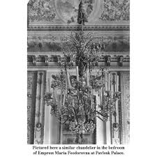 Rock Crystal Chandeliers Russian Imperial Neo Classical St Ormolu And Rock Crystal