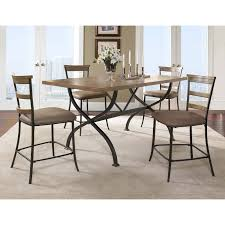 Tile Top Dining Tables Hillsdale Charleston 5 Piece Rectangle Desert Tan Wood Dining Set