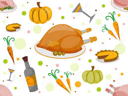 background illustration with a thanksgiving theme stock photo