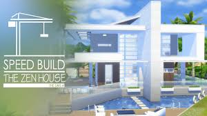 Zen Home by The Sims 4 Speed Build The Zen House Youtube