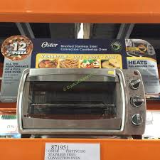 Convection Toaster Oven Costco Oster 6 Slice Stainless Steel Convection Countertop Oven