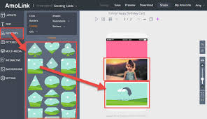 tutorial on how to make interactive birthday cards online with amolink