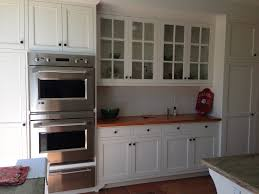 Top Of The Line Kitchen Cabinets by Inset Cabinetry Dunn Edwards Swiss Coffee Pine Counter Top