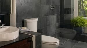 Contemporary Bathroom Design Gallery - contemporary bathroom design ideas white stained wooden frame