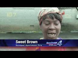 Sweet Brown Meme - sweet brown ain t nobody got time for that know your meme