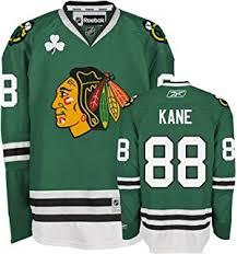 chicago blackhawks 88 patrick kane st patricks day green kids jersey