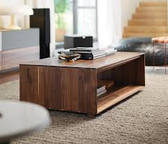 Walnut Coffee Table Modern Walnut Coffee Table Solid The Home Redesign New Ideas
