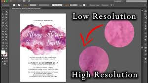 diy wedding invitations adobe illustrator u2013 high resolution