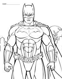 printable batman pictures kids coloring