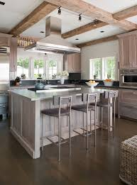 White Washed Oak Kitchen Cabinets White Washed Oak Family Room Contemporary With Natural Light Side