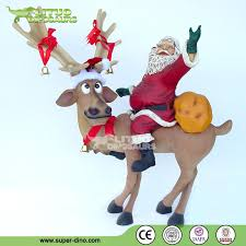 Animated Christmas Deer Decorations by Fiberglass Reindeer Statue Animated Christmas Decorations Buy
