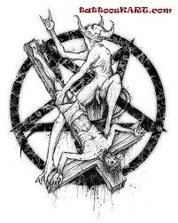 satan tattooskart com satan black jesus