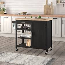 kitchen storage cabinet cart belleze wood top multi storage cabinet rolling kitchen island table cart with wheels black