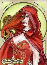 belinda 2 grimm fairy tales sketch card by srj art on deviantart