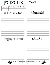 9 best images of funny to do list templates things to do list