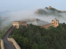 Great Wall Of China On Map by 7 Famous Border Walls History Lists