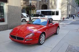 maserati gransport convertible 2003 maserati spyder cambiocorsa stock 09938 for sale near
