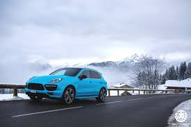 2017 porsche cayenne gts blue watch anish porsche cayenne gts in the swiss alps