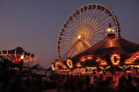 Navy pier chicago illinois map location facts best time to