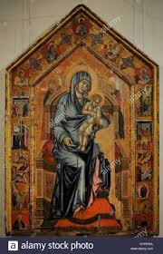 simone martini artist siena artist of 14th century madonna and child enthroned with