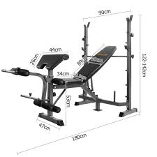 Olympic Bench Press Dimensions Bench Press Rack Dimensions Bench Decoration