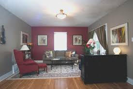 living room creative red paint living room ideas interior design
