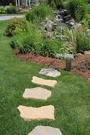 stepping stone pathway designs outdoor stone pathway designs