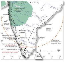 What Is Trellis Drainage Pattern Deccan Uplift