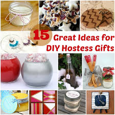 christmas hostess gifts 15 great ideas for diy hostess gifts at www happyhourprojects com