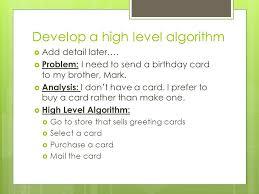 jeroo chapter 3 problem solving and algorithms problem solving