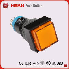 12 volt push button light switch china sale 12mm round 12 volt orange led light switch china