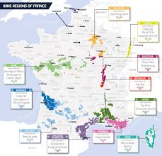 France Region Map by Wine Regions Of France Dfds