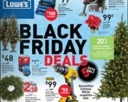 lowe s black friday 2017 deals sale ad