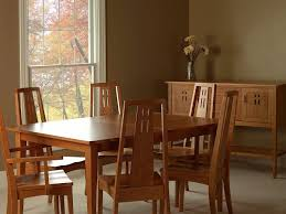 eastwood arts and crafts leg table countryside amish furniture