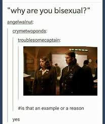 Bi Sexual Memes - dopl3r com memes why are you bisexual angelwalnut crymetwoponds